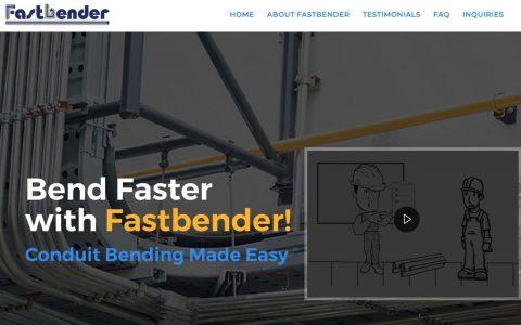 "Website design and Explainer Videos for Fastbender.  <a href=""http://www.fastbender.com"" target=""_blank"">View Web Design Here</a>"