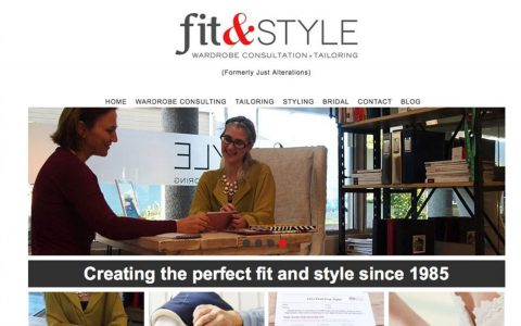 """PSD to HTML for Fit & Style.  <a href=""""http://fitandstyle.clothing"""" target=""""_blank"""">View Web Design Here</a>"""