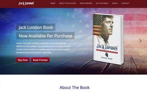 "Website Design and Web Application Programming for Jack London Book.  <a href=""http://jacklondonbook.com"" target=""_blank"">View Web Design Here</a>"