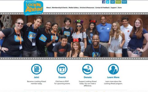 """Website Design and Web Application Programming for non profit The Actors Fund Looking Ahead Program <a href=""""http://www.lookingaheadprogram.org"""" target=""""_blank"""">View Website Design Here</a>"""