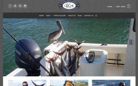 """E-commerce website project for Angler Wear.  <a href=""""http://proanglerwear.com"""" target=""""_blank"""">View Web Design Here</a>"""