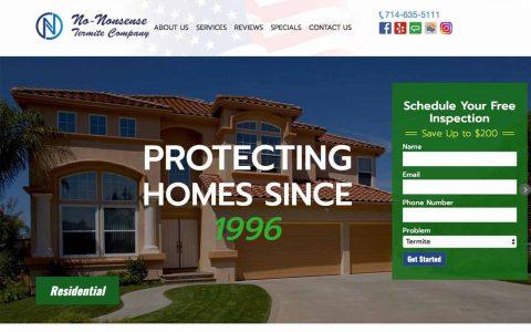 "Website Design for No-Nonsense Termite Company.  <a href=""http://nntermite.com"" target=""_blank"">View Web Design Here</a>"