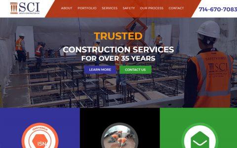 "Website Design for Saputo Construction.  <a href=""http://saputoindustrial.com"" target=""_blank"">View Web Design Here</a>"