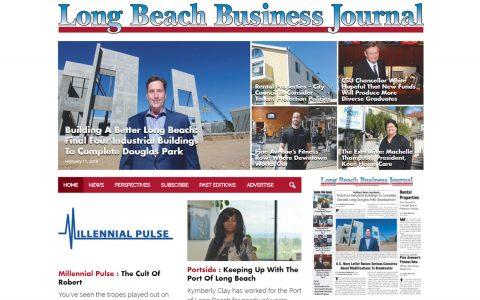 "Website Design and Development for Long Beach Business Journal.  <a href=""https://www.lbbj.com/"" target=""_blank"">View Web Design Here</a>"
